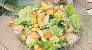 Оригинальный рецепт салата цезарь с курицей фото