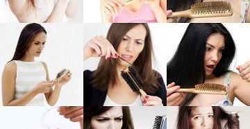 сильное выпадение волос причины