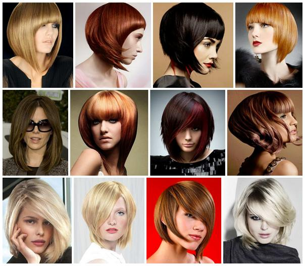 стрижка средней длины на тонкие волосы