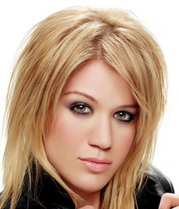 Стрижки на средние волосы женские без челки фото