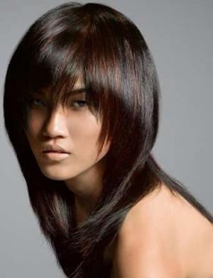 Тяжелая прическа на средний волос