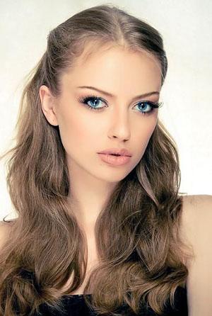 Русый и тёмно русый цвет волос