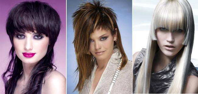 Большой выбор креативных стрижек для длинных волос