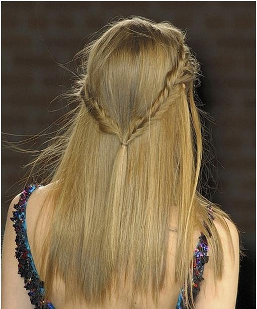 Быстрые прически на средние волосы