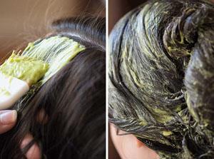 Маска с розмарином для жирных волос