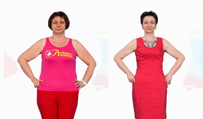 Фотографии результатов диеты Елены Малышевой