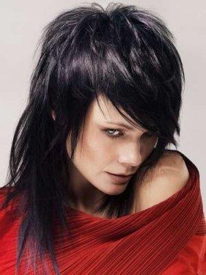 Градуированная стрижка для средних волос