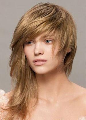 Необычные прически на средние волосы