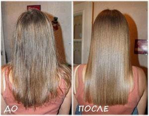 Как действует желатин на волосы