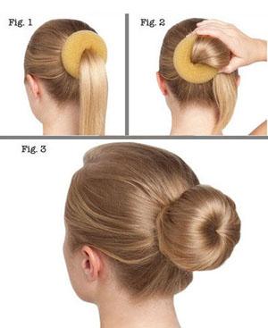 Култышка из волос как делать фото