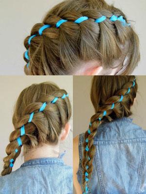 Как и чем стилизовать косу из 4 прядей