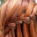 Как заплести косу «водопад» самой себе