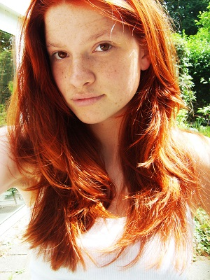 DYING MY HAIR RED  NATURAL HAIR