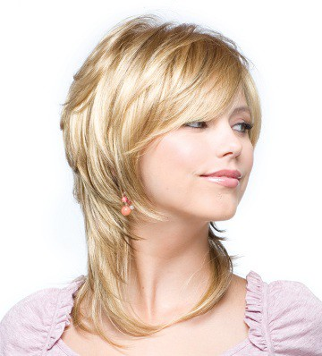 Стрижка средний волос