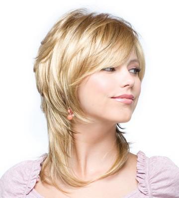 стрижка на средний волос фото