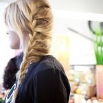 Колоски на средние волосы — скромно и невероятно красиво