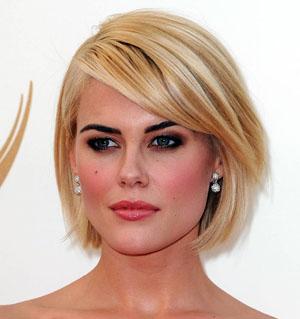 Короткие стрижки для тонких волос для овального лица