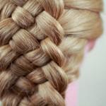 Коса из 5 прядей: схема плетения «шахматки» и классической косы