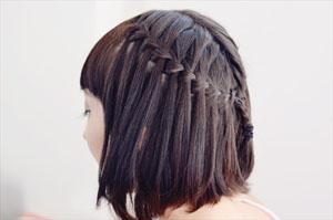 Как заплетать косы на короткие волосы