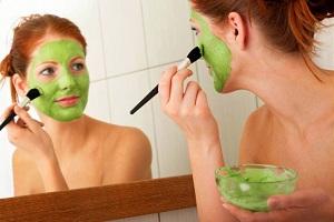 Подсушивающая кожу маска