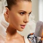 Невеста поет жениху на свадьбе — оригинальный подарок