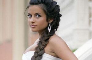 Какие есть свадебные косы