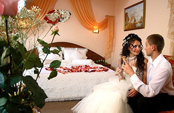 брачная ночь молодой русской пары