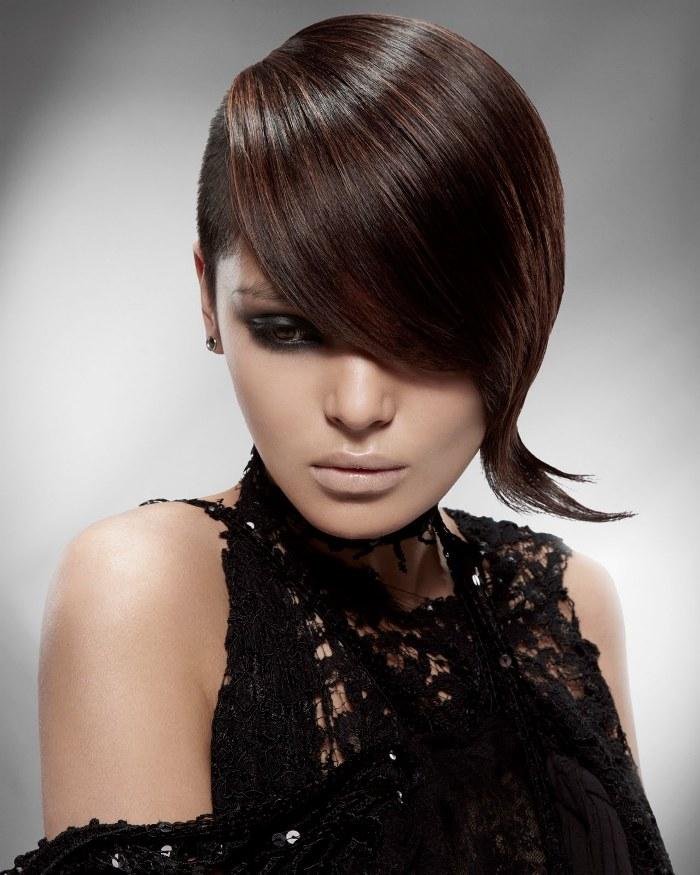 Плавный переход от коротких к длинным волосам