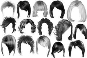 Подбор праздничных причесок для средних волос