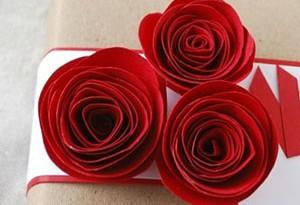 Поделки из цветной бумаги цветы роза своими руками