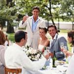 Поздравления молодоженов с днем свадьбы своими словами
