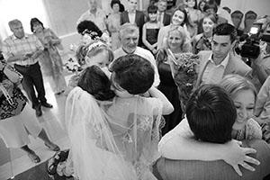 Поздравления в день свадьбы для жениха от родителей тестя тещи