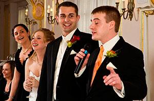 Прикольные поздравления со свадьбой своими словами