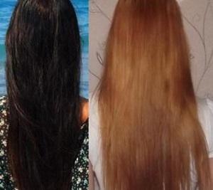 как убрать краску с волос в домашних