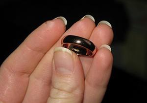 Советы про то как определить размер кольца в домашних условиях