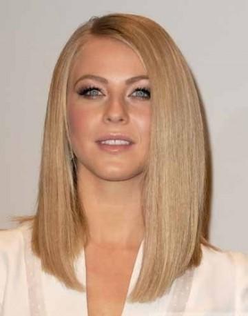 Длинные русые волосы без челки фото