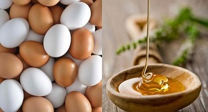 Маска медово-яичная восстанавливающая