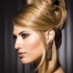 Высокие прически на средние волосы: великолепная утонченность и женственность