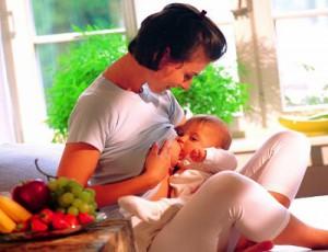 Новые продукты в меню кормящей мамы