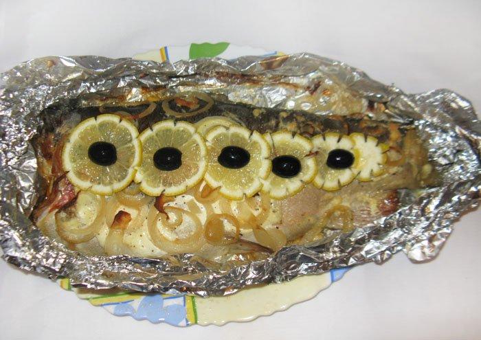Форель в фольге запеченная в духовке