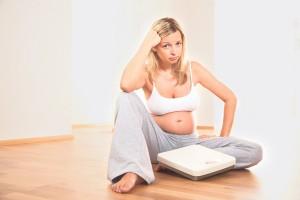 Из каких параметров будет складываться вес беременной женщины в такой период