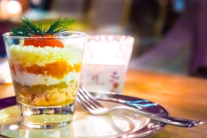 Как приготовить салат мимоза с семгой