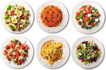 Доступные красивые салаты ко дню рождения