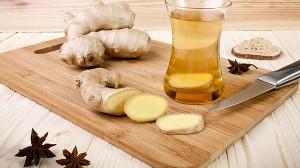 Имбирный чай против простуды