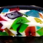 Желейный торт «Битое стекло» – пошаговый фото рецепт