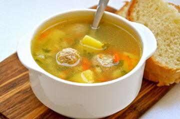 суп с фрикадельки из фарша рецепт с фото
