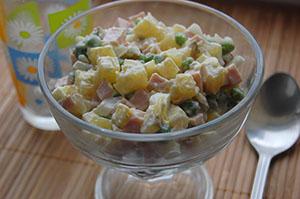 Как правильно приготовить салат оливье