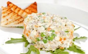 Как сделать салат оливье иначе