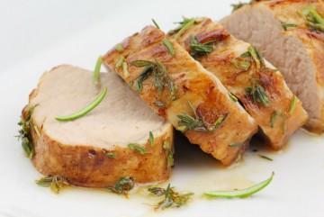 как запечь свинину в духовке вкусно