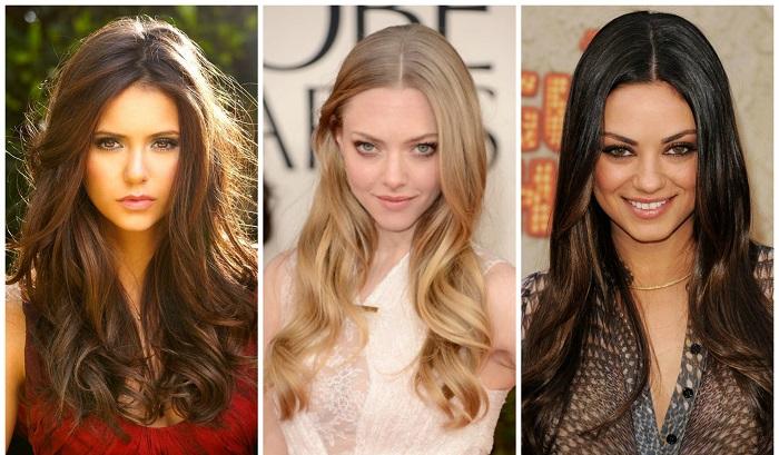 Стрижка каскад фото на средние волосы на прямые волосы